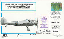 VAFA 01 Vickers Type 246 ( Wellesley) Prototype Signed Charles Wellesly