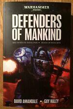 New Paperback Warhammer 40000 Book Defenders Of Mankind Omnibus (2015) Annandale