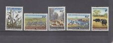 RWANDA-1965-SHORT SET TO 1f-KAGERA NATIONAL PARK-SG 98-102-M/HINGE-$4-freepost
