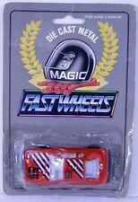 Magic Fast Wheels 1970s Lotus Esprit S1 Red w/Black&White Stripes #5 MOC 1/64
