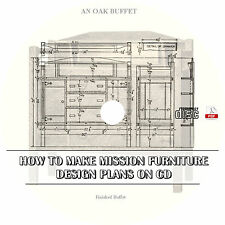 How To Make Mission Furniture {Design Plans} Popular Mechanics ~ Books on CD