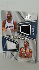 2007-08 SP Game Used Authentic Fabrics Dual AFD-AB ARENAS - BUTLER /99 ! Wizards