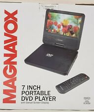 """Magnavox 7"""" Portable DVD Player CD Player with TFT Swivel Screen, Stereo Speaker"""