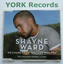 SHAYNE WARD - No U Hang Up - Excellent Condition CD Single Syco