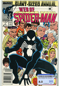 Web of Spider-Man Annual #3 (Marvel 1987) | 8.0 VF | NEWSSTAND Everything About