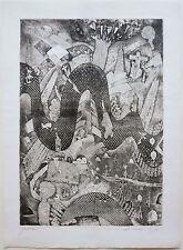 Alberto Longoni (Milano,1921 – Miazzina,1991) -Acquaforte (1973)- Grafica Uno
