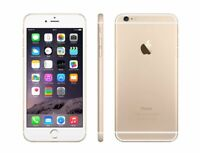 NEW GOLD AT&T APPLE 128GB IPHONE 6 SMART CELL PHONE JG41