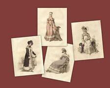 Regency Print Collection Carriage Jane Austen Style Fashion Ackermann Repository