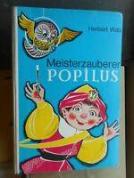Herbert Walz: Meisterzauberer Popilius reich illustriert Alsatia 1969 Kinderbuch