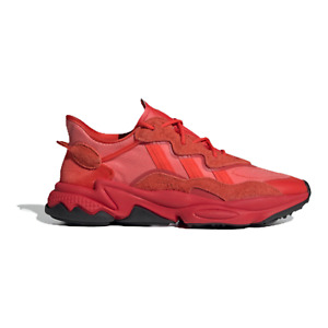 adidas Originals Mens OZWEEGO Shoes Sneakers Triple HiRes Red FV2911 Size 9.5