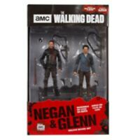 "McFarlane Toy Action Figure 10"" The Walking Dead Deluxe Box Set - NEGAN & GLENN"