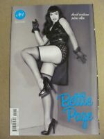 Bettie Page #1 Dynamite 2018 Series 1:20 Photo Variant 9.4 Near Mint