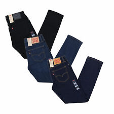 Levis 511 Mens Jeans Slim Fit Stretch Denim Skinny Pants Zipper Fly Original Nwt