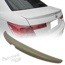 PKUK Honda Accord Boot Trunk Rear Spoiler 08 10 12 Unpainted
