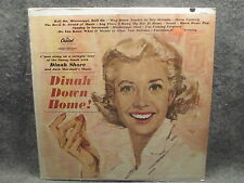 33 RPM LP Record Dinah Shore Dinah Down Home Capitol Records T-1655