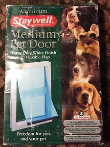 Staywell Petsafe Innotek Aluminum Medium Pet Door