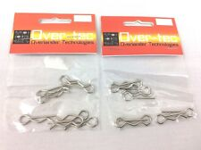 Escala 1/8th RC cuerpo Pins/Clips x 16, Losi-HB-xray-Kyosho etc