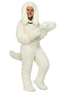Kids Shaggy Sheep Dog Puppy Costume Size S XL (with defect)