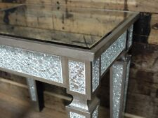 Venetian crackle mirror coffee table end table bedside table