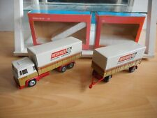 """Tekno Holland Scania LBS 141 + Trailer """"Besemer"""" in Brown on 1:50 in Box"""