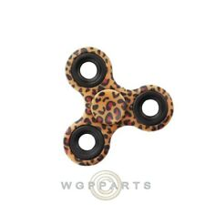 Triangle Spinner - Leopard Skin Fidget Colorful  Finger Toy  ADHD ADD Focus