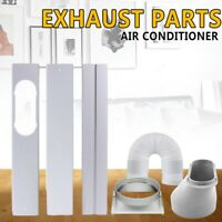 Window Adaptor 3PCS Kit Plate Exhaust Hose/Tube For Air Conditioner US Stock