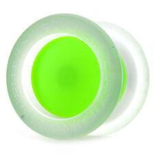 YoYoFactory Replay Pro Clear + Neon Green Yo Yo Gentry Stein + 3 Free Strings