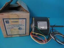 NEW NOS EMERSON K6880 PSC CONDENSER FAN MOTOR 1/3 HP 1075 RPM 2.2 AMP208-230V
