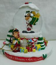 Original Disney Schneekugel Mickey Mous und FReunde Weihnachten