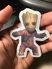 Baby Groot Guardians of the Galaxy Laptop Sticker
