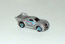 VEHICULE  STYLE MICROMACHINES n°1105 - VOITURE GRISE SPORT HASBRO (3,5x1,5cm)