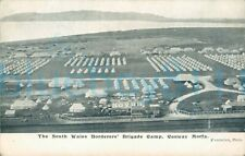 More details for edwardian postcard 1906 conway morfa south wales borderers brigade camp