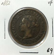 Canada 1882 H One Cent 1 Cent VF