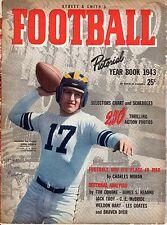 1943 Street & Smith's Football Pictorial YB magazine, Steve Juzwik~Notre Dame~Gd