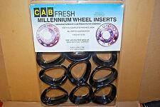 "Cab Fresh Millennium WHEEL INSERTS #KW225BK (1-Pack) BLACK (22.5"") (#S6474-A)"