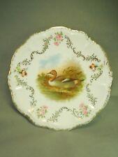 PM Bavaria Bird of Prey Duck Porzellanfabrik Moschendorf Decoration Plate