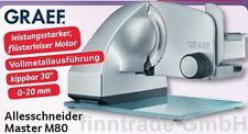 Graef Master M 80  Allesschneider Brotschneidemaschine Aufschnittmaschine Ø 170