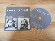 CD Chanson Lara Fabian - Introducing (5 Song Snippets) Promo EPIC cb