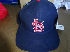 Vintage St. Louis Cardinals Baseball Cap Hat Fitted 7 1/8 NEW