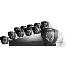 Samsung SDS-P5122 12 Camera 16 Channel 0.5MP (720TVL) DVR Video Security System