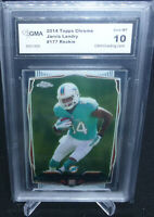 2014 Topps Chrome Jarvis Landry Rookie Card #177 GMA Graded Gem Mint 10 BROWNS