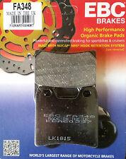 EBC/FA348 Brake Pads (Rear) - Yamaha FZS1000 Fazer (01 - 05), XJR1300 (01 - 15)