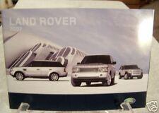 **NEW** 2007 Land Rover Dealer Product Brochure Full