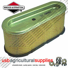 BRIGGS & STRATTON AIR FILTER BS496894S 496894 GENUINE NEXT DAY DELIVERY 12.5hp