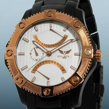 New Rovilsons III Wright Series, Men's Dual-Time Watch