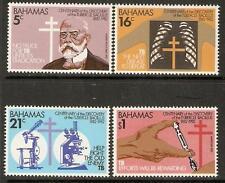 BAHAMAS SG612/5 1982 DISCOVERY OF TUBERCLE BACILLUS MNH