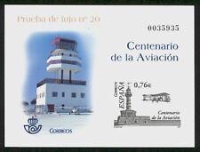 ESPAÑA PRUEBA F.N.M.T. 2003 82  CTº AVIACION Lujo Nº 20