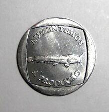 Whale fish wildlife 2014 Isla Alejandro Selkirk 200 condores bimetallic coin