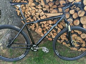"Gary Fisher Rig 21.5"" XL Single Speed Mountain Bike Rockshox Trek"