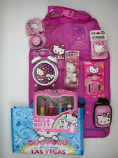 Hello Kitty Lot Alarm Clock Lunch Box Backseat Organizer PEZ Dispenser Compact